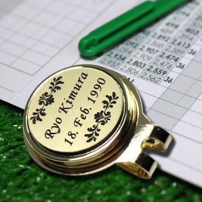 画像3: 名入れ ゴルフマーカー ゴルフ マーカークリップ グリーンマーカー アクセサリー 彫刻無料 オリジナル GS
